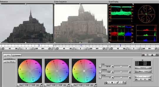 Met Avid XpressDV blijft u de meeste kleurproblemen de baas.