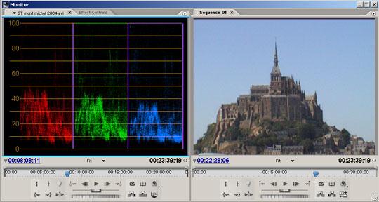 De mogelijkheden voor kleurcorrectie zijn enorm verbeterd door de 3-point kleurcorrectie filter.