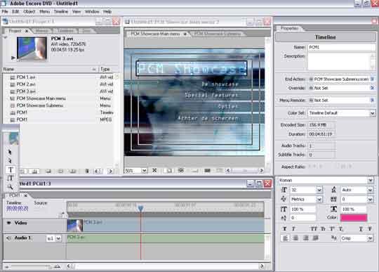 Adobe pakt flink uit met Encore DVD. Dit pakket biedt alles maar voor een te hoge prijs.