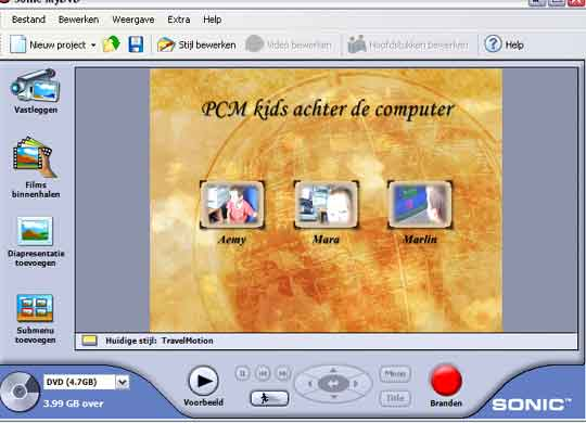 Sonic MyDVD 5 Studio Deluxe