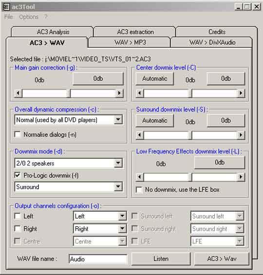 AC3tool heeft een eenvoudige interface waarmee je snel uit de voeten kunt.