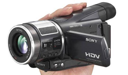 Sony levert de eerste hdv-camera onder de 2000 euro.