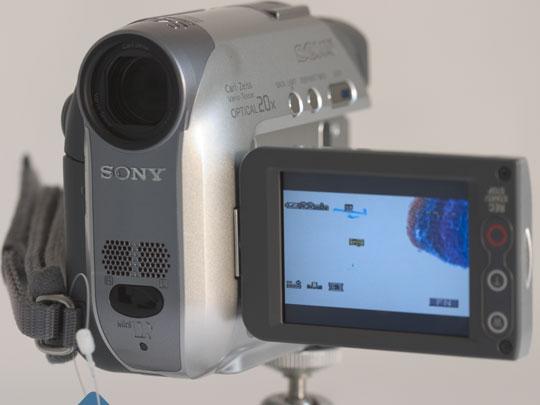 Voor opname tussendoor is deze camera prima geschikt.