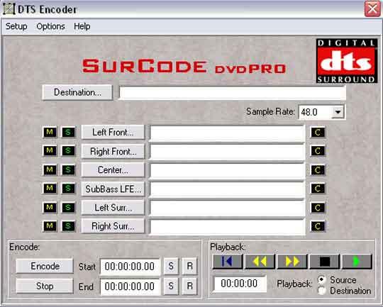 Er zijn al encoders die uw geluid omzetten naar het geavanceerde DTS.