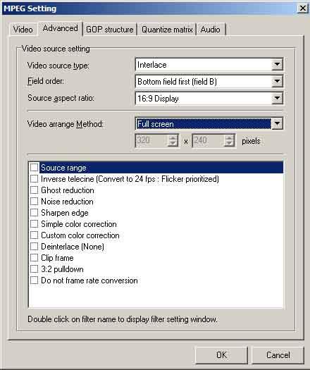 De enige bekende gratis mpeg-2 encoder is TMPGenc, die zeker niet slechter is dan veel commerciële producten.