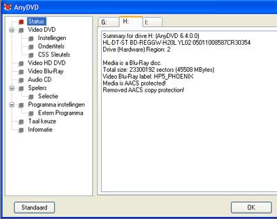 Met Anydvd HD is het eenvoudig om de beveiliging van blu-ray te omzeilen en een hd-film te kopiëren.