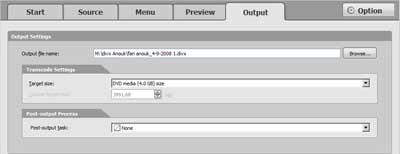 Na het encoderen van de video kunt u een cd branden of het bestand bekijken in de divx player.