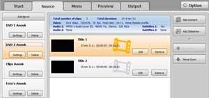 Vooraf is het al belangrijk om bestanden goed te importeren om later niet in de knoop te komen met het menu.