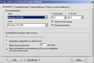 vhs-digitaliseren-pinnacle-opnamebron