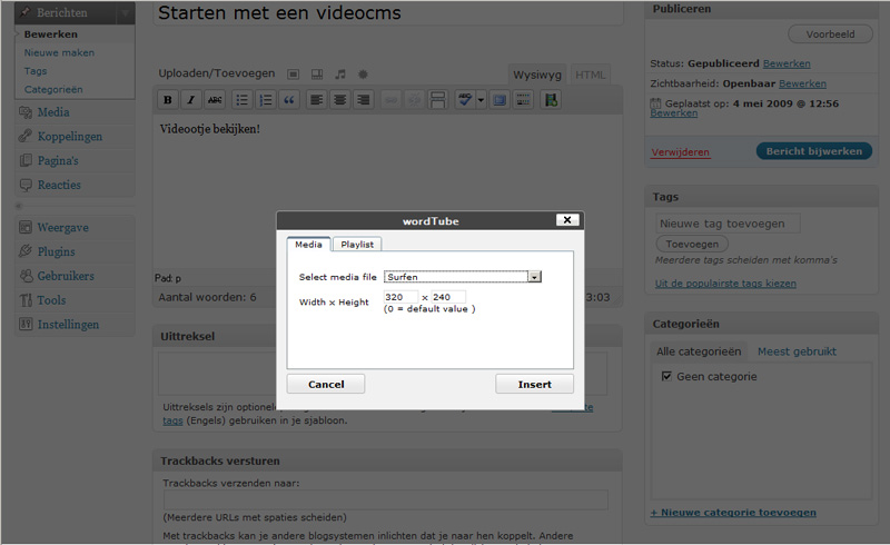 videocms-wordpress-stap10d-frontend-artikel-cms