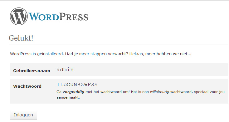 videocms-wordpress-stap5b-install-log-in