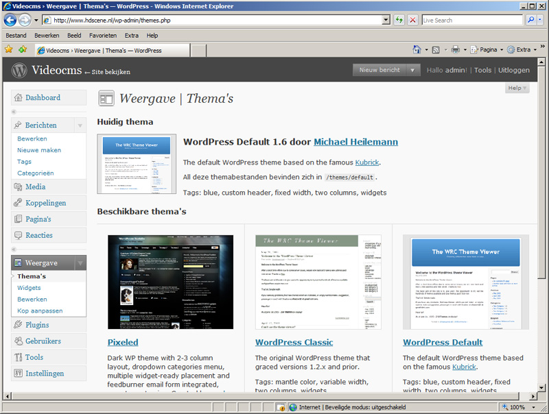 videocms-wordpress-stap6a-themas