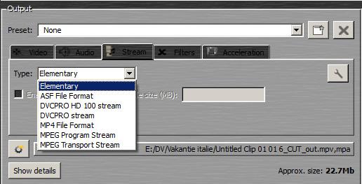 beter-encoderen-mainconcept-stream-type