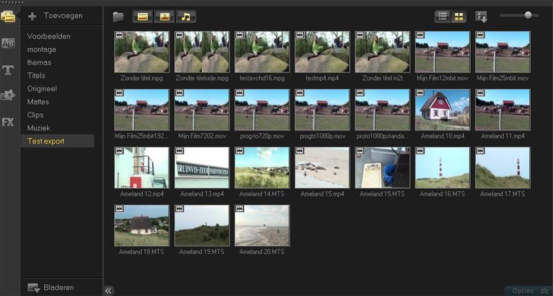 corel-videostudiopro-x4-bibliotheek