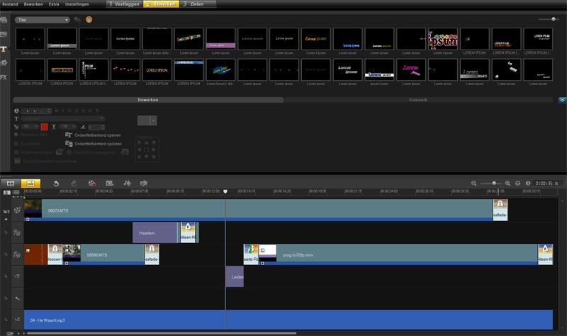 corel-videostudiopro-x4-titels-en-overlay