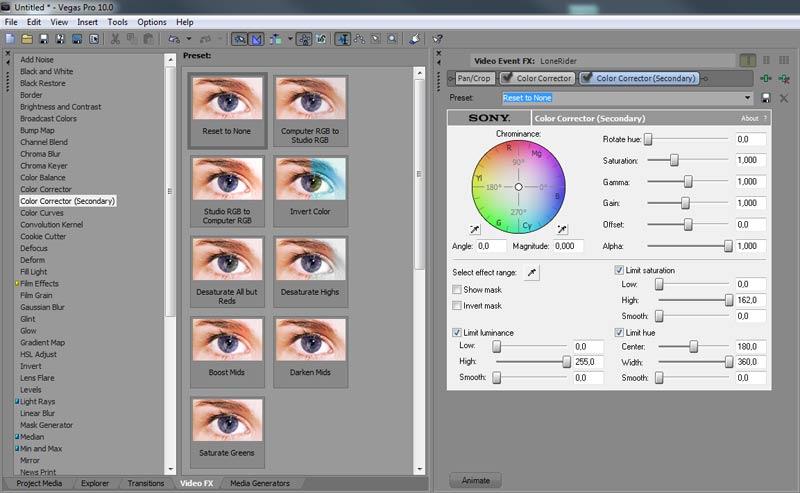 leren-monteren-6-werken-met-kleuren-vegas-filters