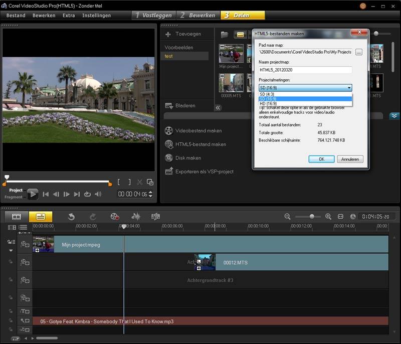 Corel-videostudio-pro-x5-html5