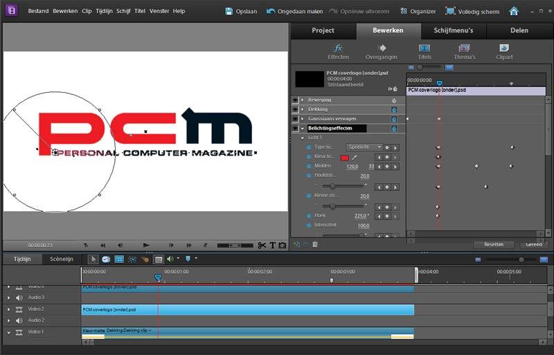 logo-animeren-belichtingseffect