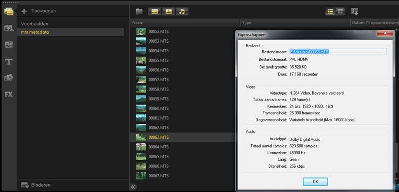 videoarchief-xmp-metadata-corel-videostudio-x5