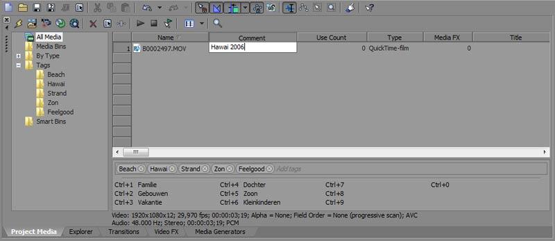 videoarchief-xmp-metadata-sony-vegas-pro-12-tags