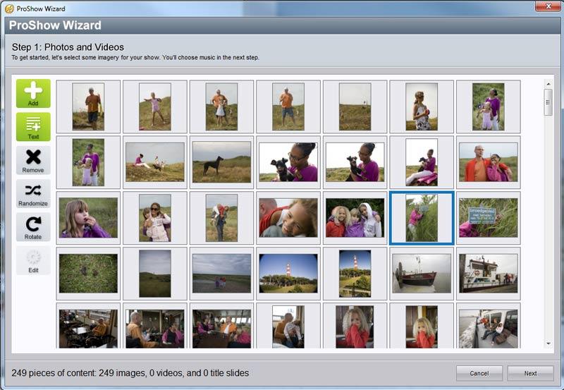 fotoslideshow-tutorial-stap1-import