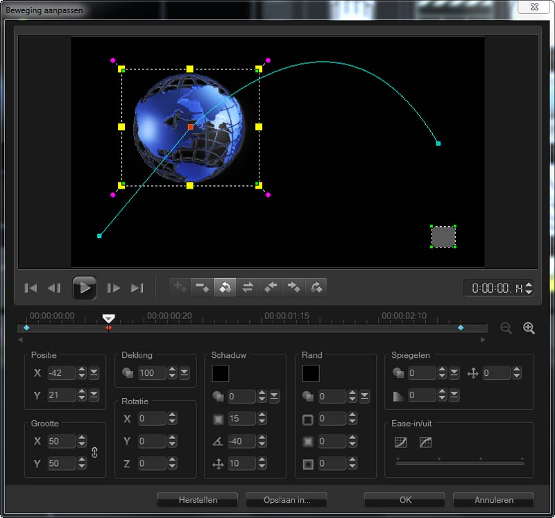corel-video-studio-x6-beweging-aanpassen