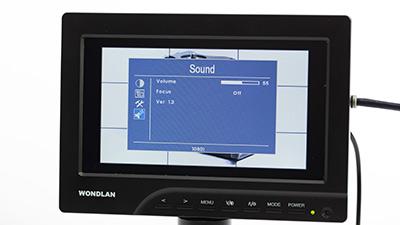 dslr-monitoren-wondlan-701a-geluid